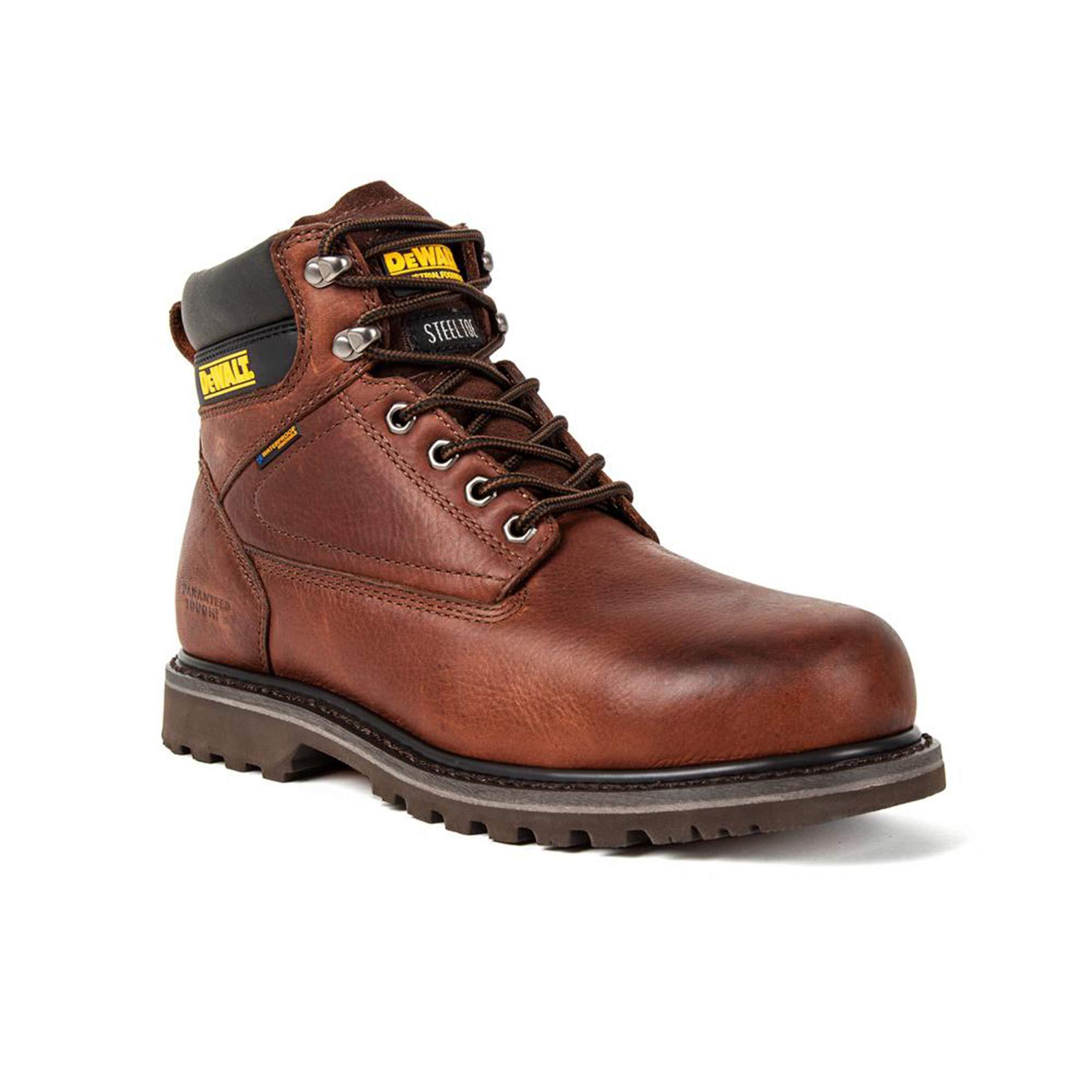 DEWALT Men's Axle Steel Toe Waterproof Work Boot (10 M US)