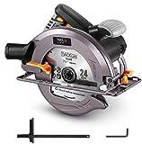 TACKLIFE 15-Amp 7-1/2-inch Circular Saw with 24T