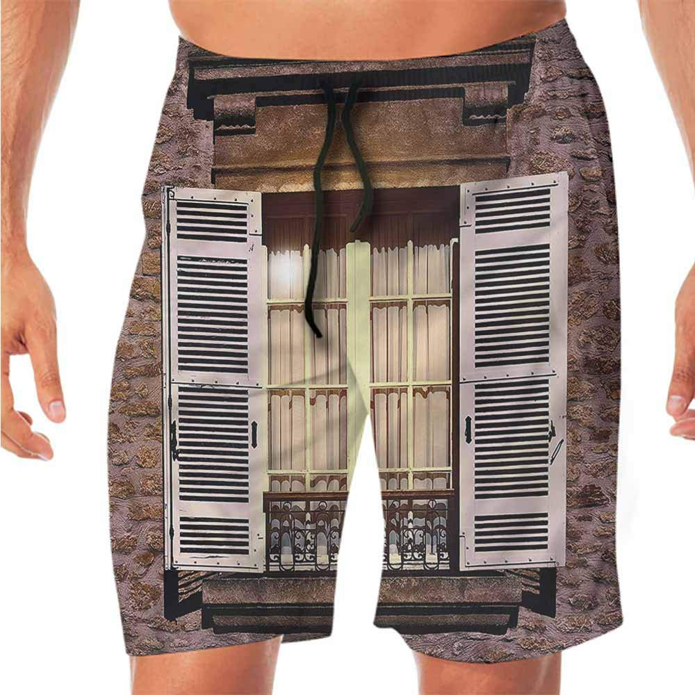 ScottDecor Quick-Dry Beach Boys Shorts Country,Old Stone Bridge Bosnia Workout Shorts