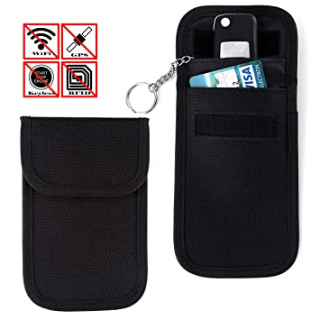acbungji Faraday Bag - Blocker Keyless Go Llave de Coche ...