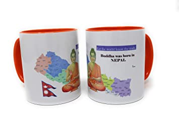 Amazon.com: Buddha Taza de té, café, chocolate caliente ...