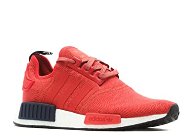 adidas NMD R1 Women RED Black White S76013 US Women Size 9