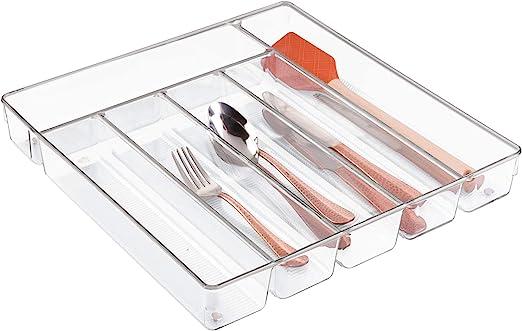 InterDesign Linus Caja para cubiertos, cubertero para cajones ...