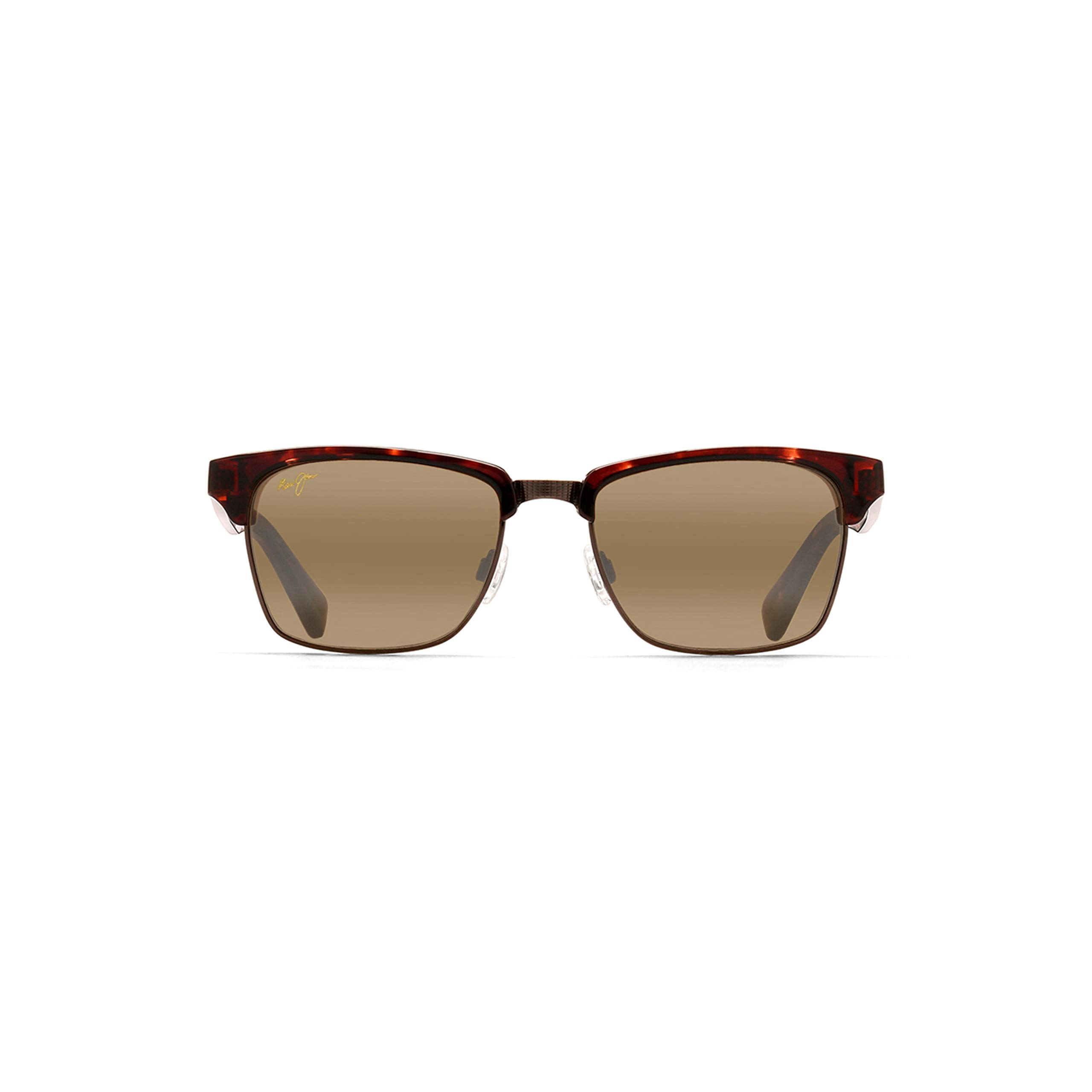 Maui Jim Kawika H257-16C | Sunglasses, Tortoise, with with Patented PolarizedPlus2 Lens Technology by Maui Jim
