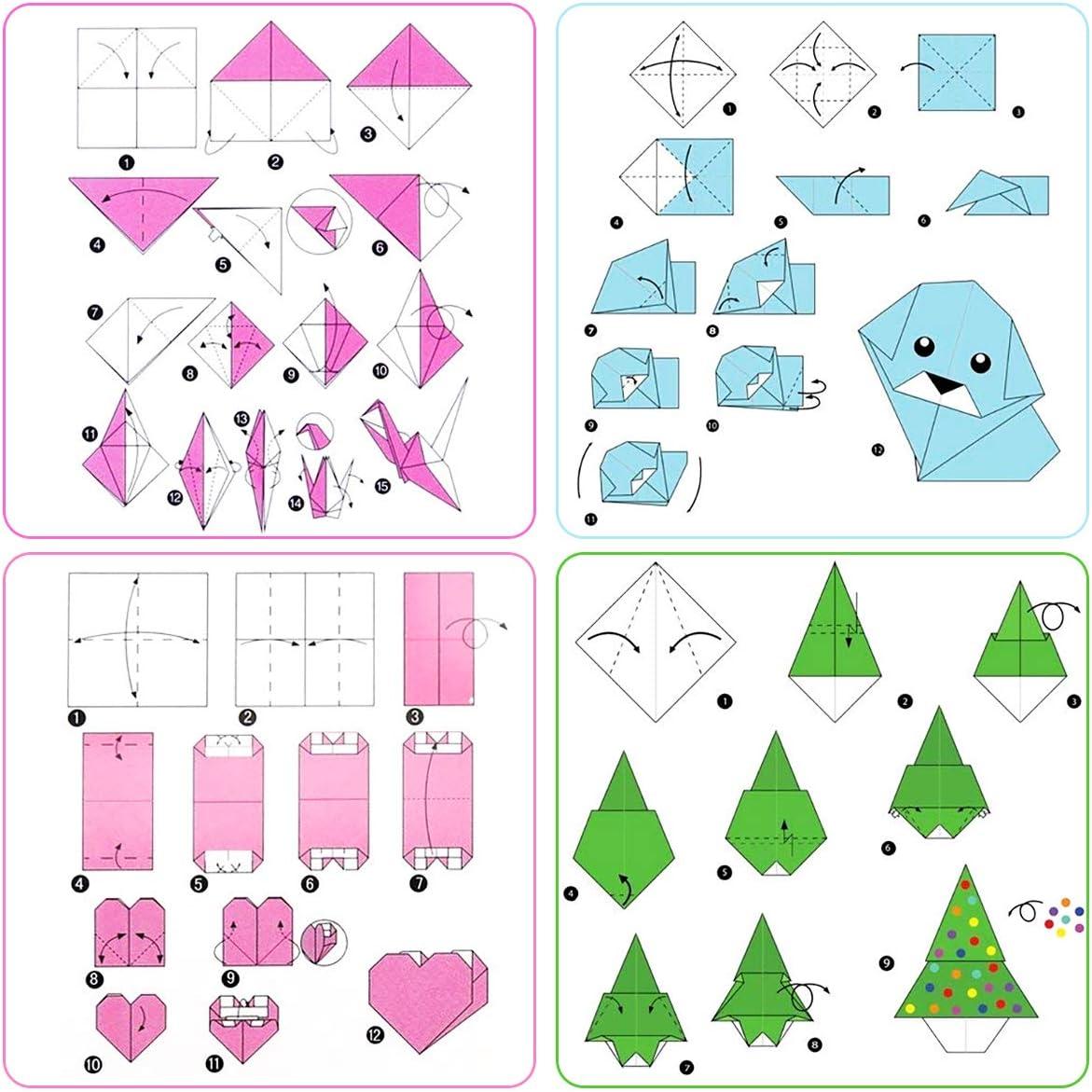 Marble Strips PaperKiddo Origami Papier Set 100 Bl/ätter Marmor Muster Bronzieren Einseitige mit 10 Verschiedenen Einzigartigem Design f/ür Kunst und Bastelprojekte 15 x 15 cm