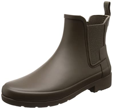 e87267421 Amazon.com | Hunter Womens Original Refined Chelsea Boots | Rain ...