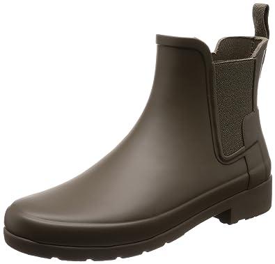 3f02f5e68441 Hunter Women s Original Refined Chelsea Boots Swamp Green 5 ...