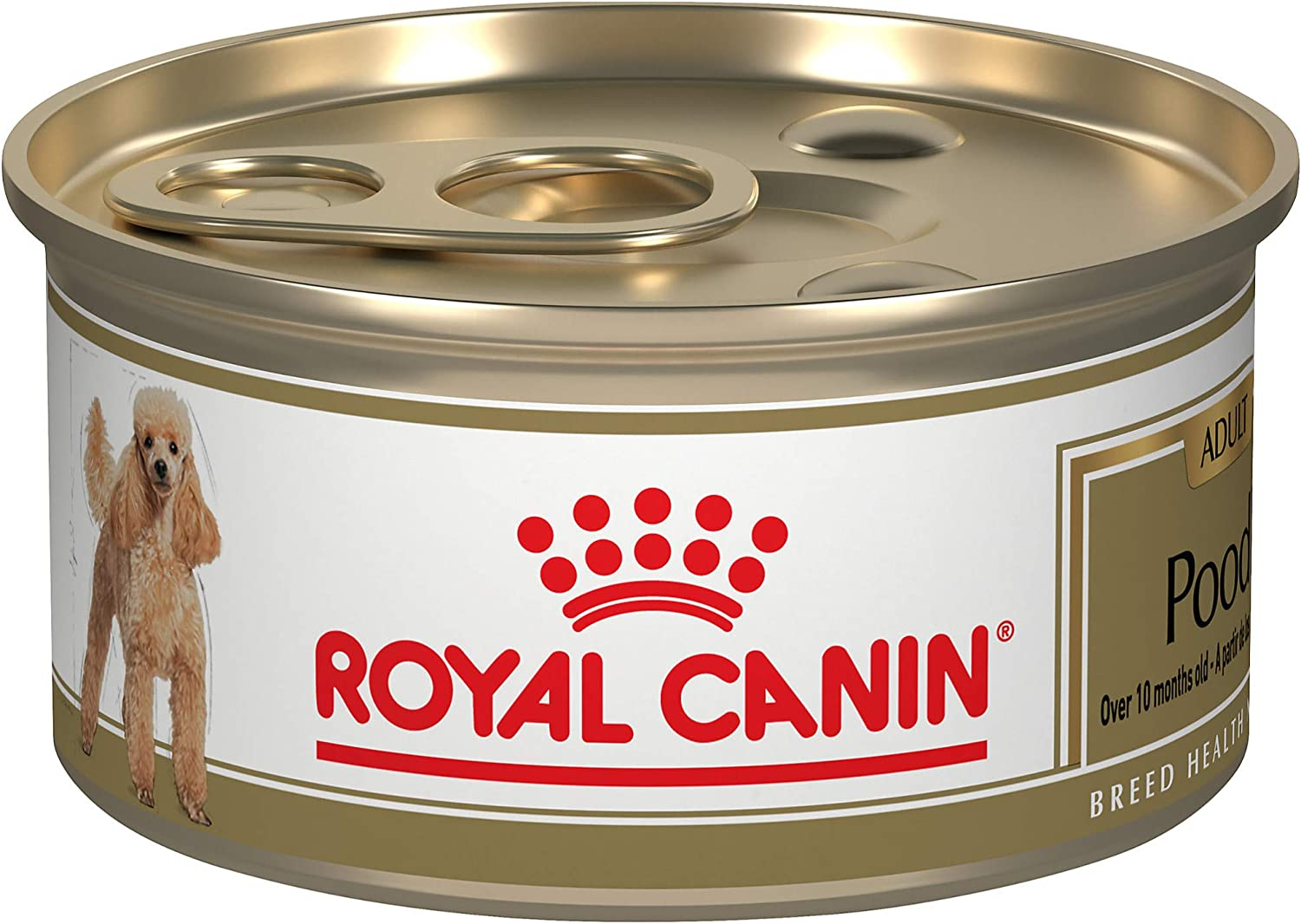 Royal Canin Breed Health Nutrition Poodle Adult Loaf in Sauce Canned Dog Food, 3 oz (Pack of 24)