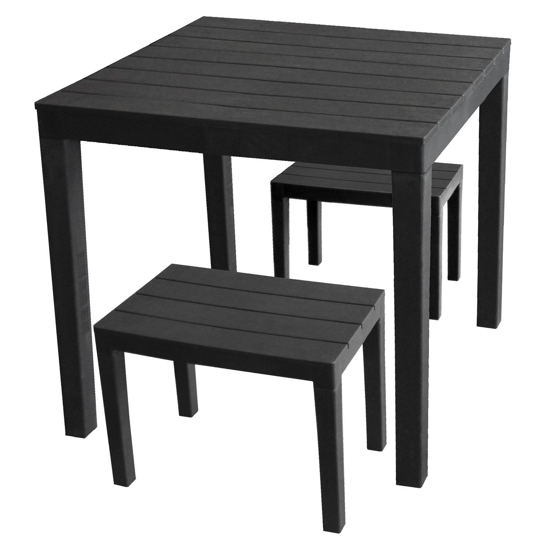 gartentisch holzoptik kunststoff gartentisch mecalit ii with gartentisch holzoptik kunststoff. Black Bedroom Furniture Sets. Home Design Ideas