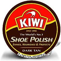 Kiwi - Betún para zapatos (3 unidades), color marrón