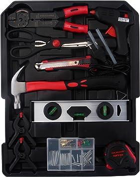 718 piezas de herramientas de caja de herramientas de aluminio con ...