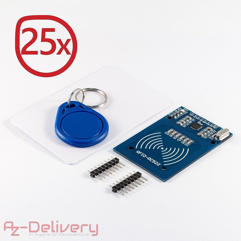 Azdelivery Rfid Rc522 ReaderChip Card Kit 56mhz Mit Und 13 LqUVpGzSjM