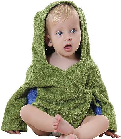 ZumZup Unisexe B/éB/é Peignoir a Capuche Enfants Mignon Animal D/éguisement Coton Encapuchonn/é Serviette de Bain Pyjamas Cartoon Poncho Couvertures Robe No/ël Cosplay de Chambre I 0-15 Mois