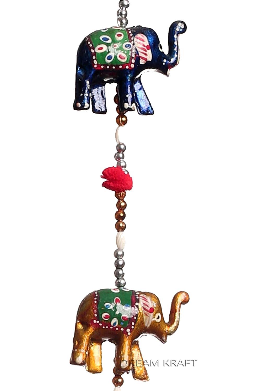 Buy DreamKraft \'Rajasthani\' Elephant Door Hangings For Main Door ...