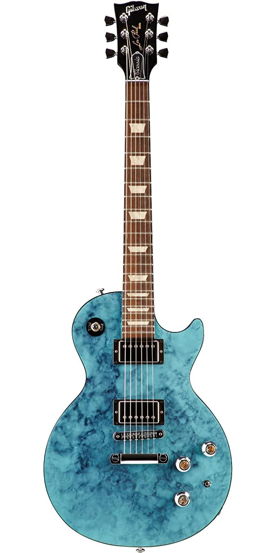 Gibson Les Paul Guitarra eléctrica Rock clásico turquesa: Amazon.es: Instrumentos musicales