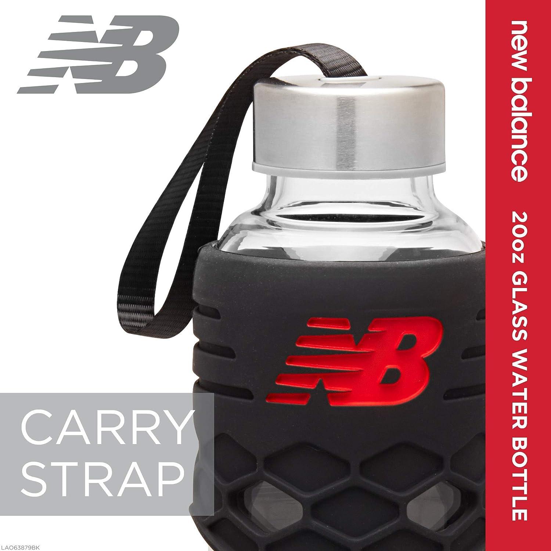 New Balance 20oz Glass Water Bottle