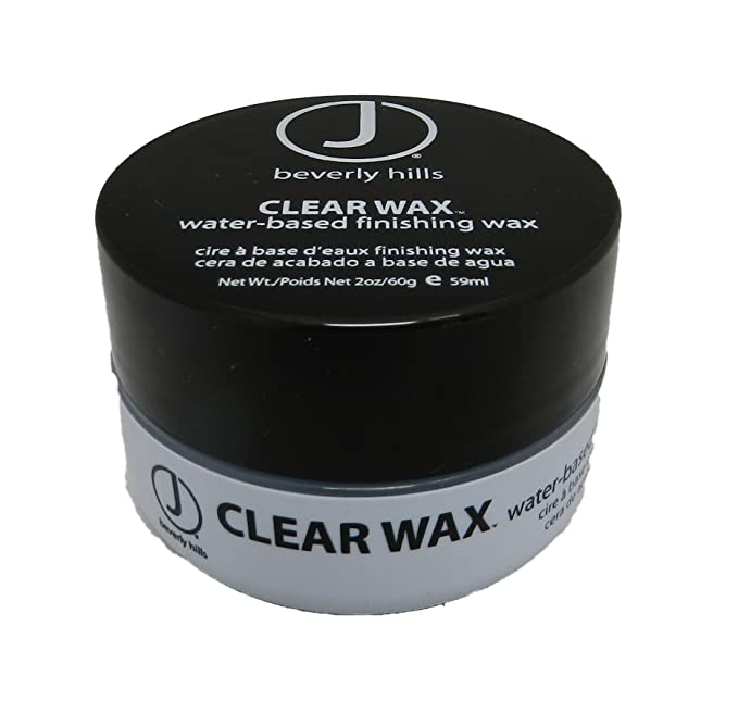 J Beverly Hills Clear Wax Water-Based Finishing Wax - 60g/2oz