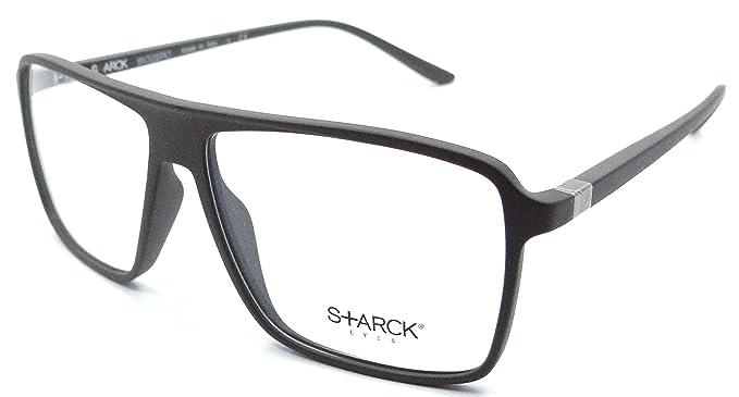 Amazon.com: Starck Eyes Mikli Rx Eyeglasses Frames SH3019 0004 56x13 ...