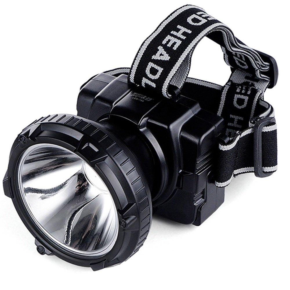 QAR LED Wiederaufladbare Super Helle Scheinwerfer Verstellbaren Kopf Mit Taschenlampe Stirnband Angeln Suchscheinwerfer Taschenlampe