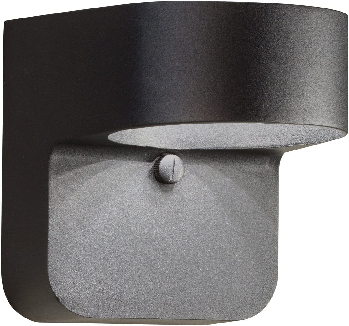 Kichler 11077BKT Outdoor Wall Sconce, 1 Light LED 15 Watts, Textured Black