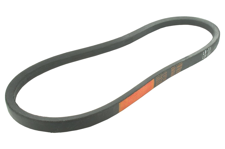 LB50 Greenstar 13097 Courroie lisse trap/ézo/ïdale 16,5 x 9,5 mm x 50 Jap