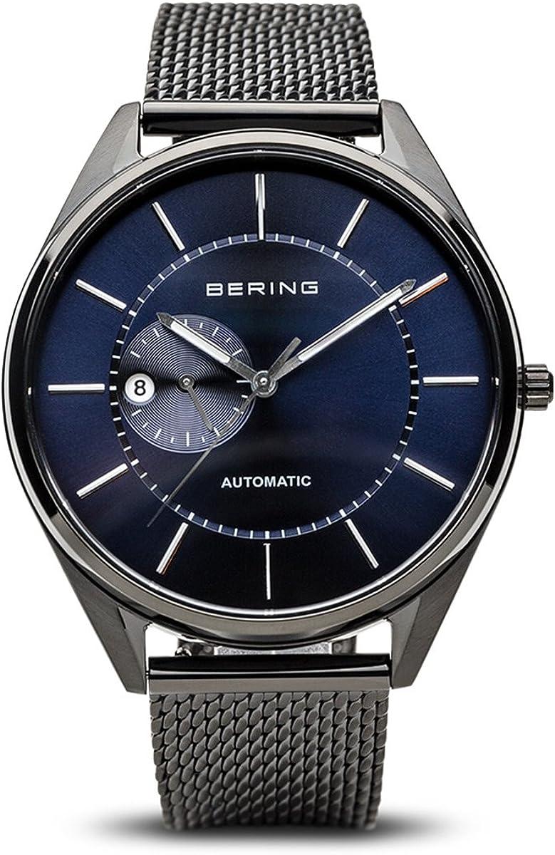 BERING Reloj Analogico para Hombre de Automático con Correa en Acero Inoxidable 16243-227