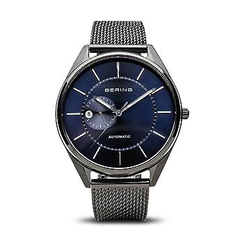 BERING Reloj Analogico para Hombre de Automático con Correa en Acero Inoxidable 16243-227: Amazon.es: Relojes
