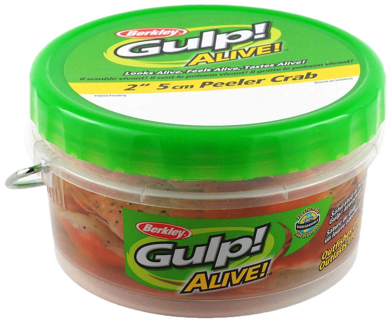 Amazon.com : Berkley GAPPC2-NP Gulp Alive Peeler Crab, New ...