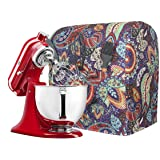 Kitchen Aid Mixer Cover, Stand Mixer Attachment Accessory With Pockets, 5-8 Quart Mixer Dust Cover Compatible With Kitchenaid