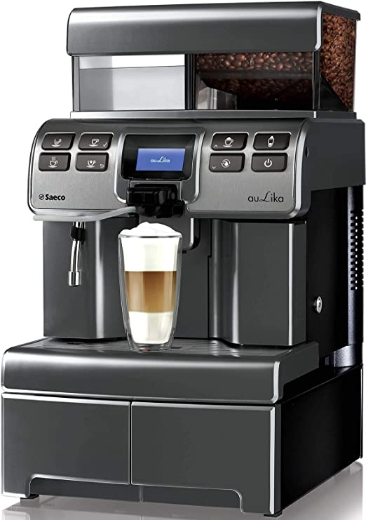 Saeco Aulika Top High Speed Cappuccino Independiente Totalmente automática 4L 2tazas Plata - Cafetera (Independiente, 4 L, Granos de café, Molinillo integrado, 1400 W, Plata): Amazon.es: Hogar