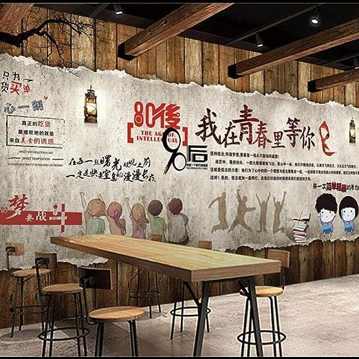 Bar retro nostálgico restaurante fondo pared café billar tetería ...