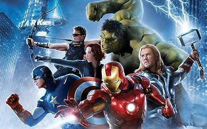Movie Avengers Age Of Ultron The Thor Captain America Hulk Hawkeye Black Widow Iron Man
