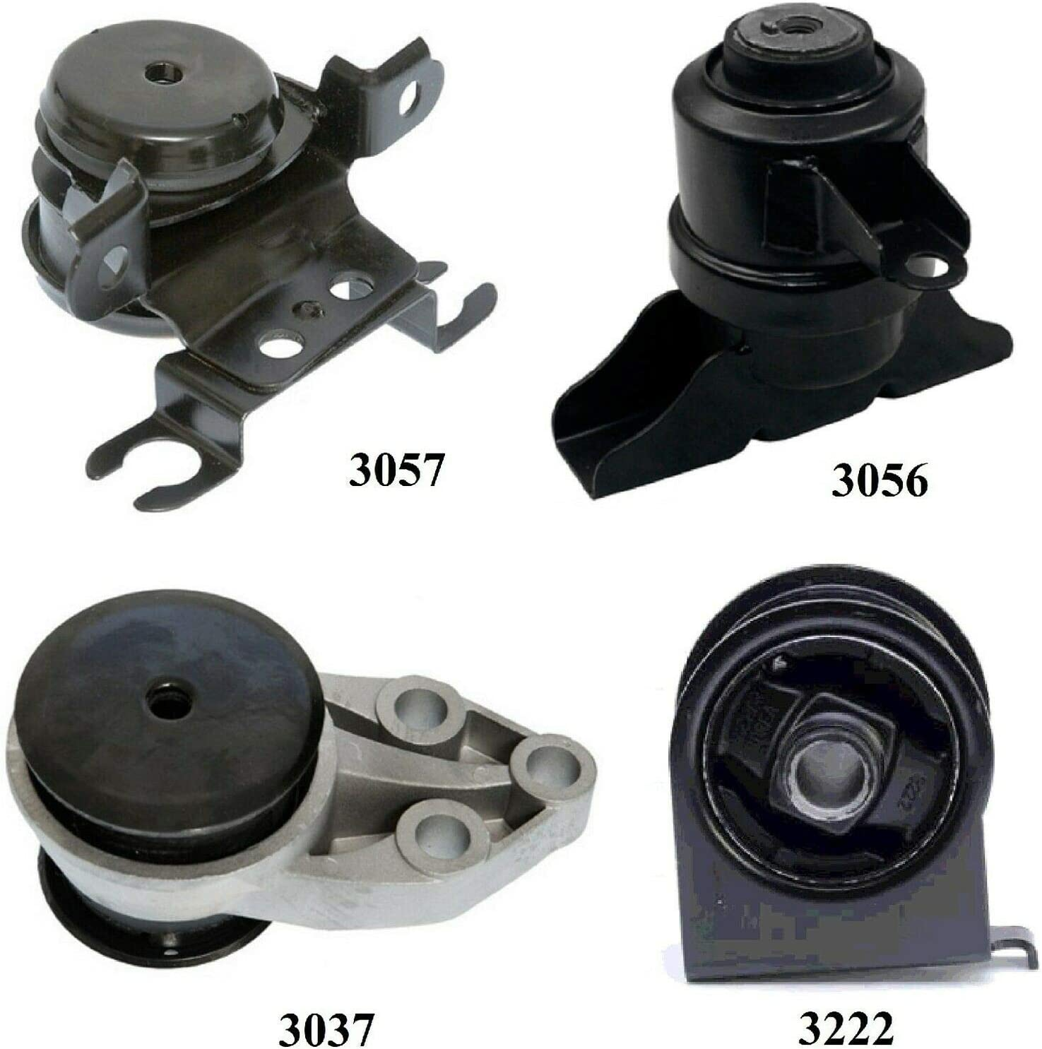 8USAUTO 4 PCS Motor /& Trans Mount FIT 2001-2004 Ford Escape 2.0L /& 3.0L