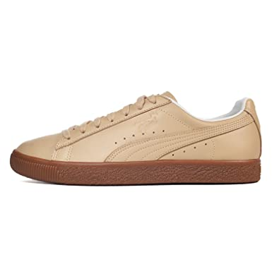 separation shoes 18dbc b19c2 Amazon.com | PUMA Men's Clyde Naturel Ankle-High Leather ...