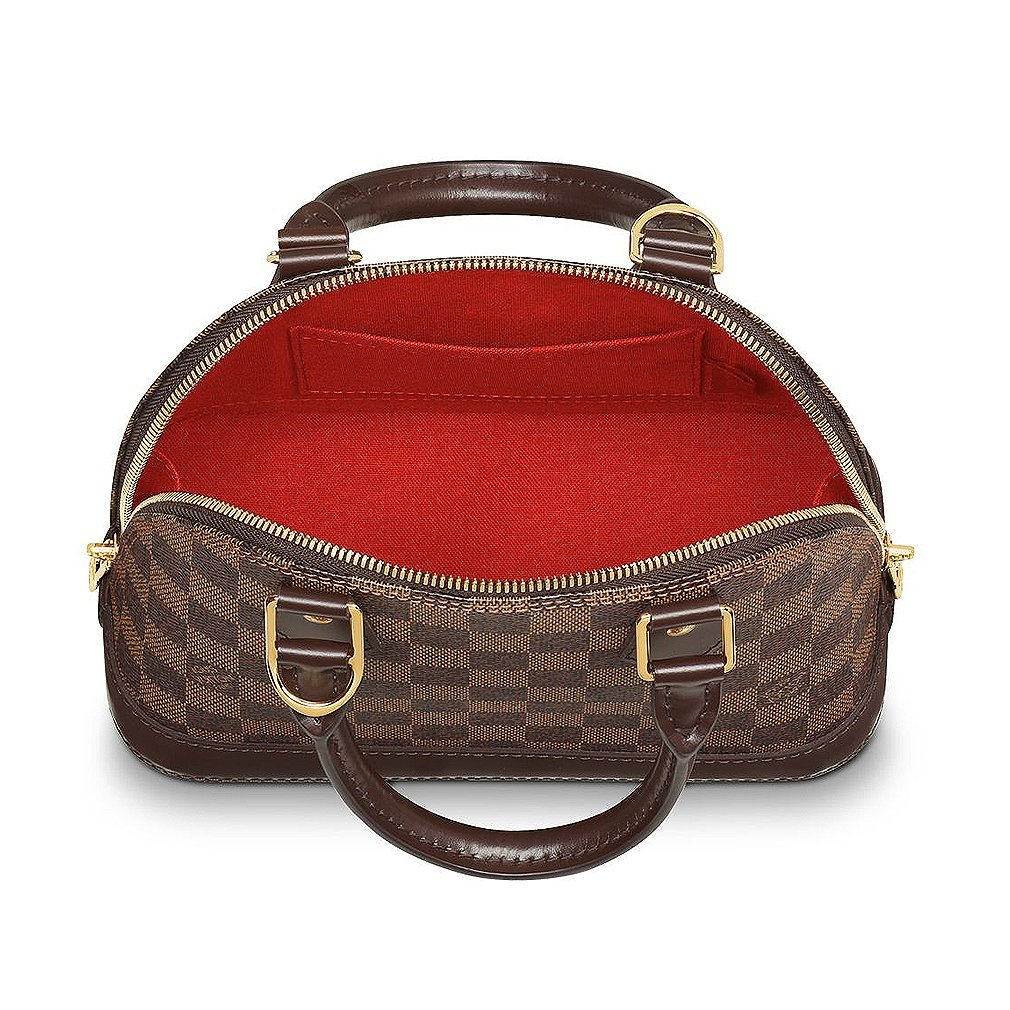 a68526640 Authentic Louis Vuitton Damier Alma BB Cross Body Handbag Article: N41221  Made in France: Amazon.co.uk: Shoes & Bags