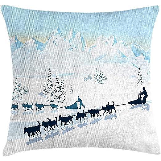Tommy Warren Diseño gráfico del Paisaje del Polo Norte con ...
