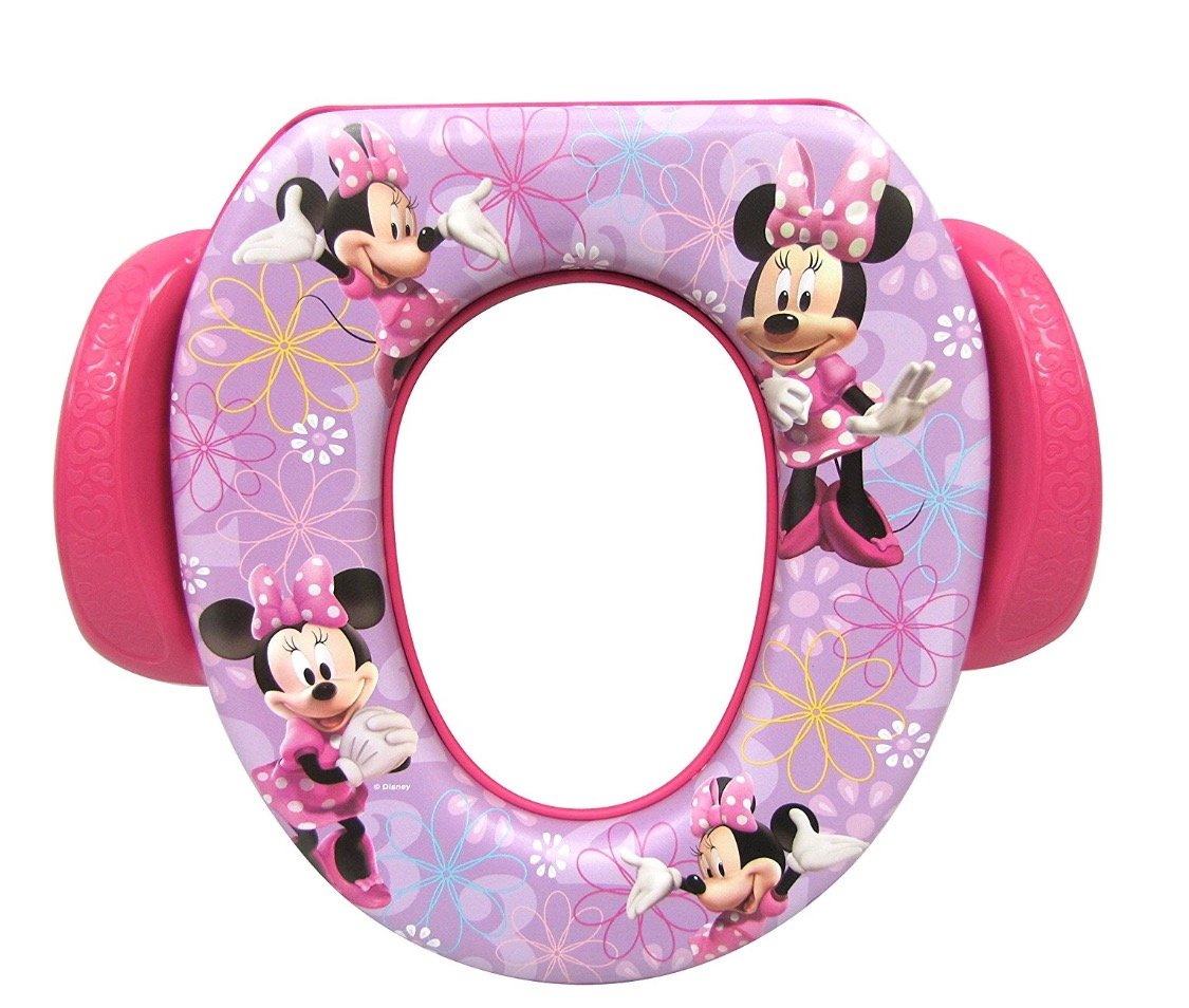 Disney Minnie Mouse Soft Potty Seat with Handles and Hook by Mickey Mouse (Image #2)