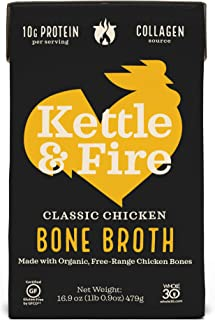 product image for Kettle & Fire, Bone Broth Chicken, 16.9 Fl Oz
