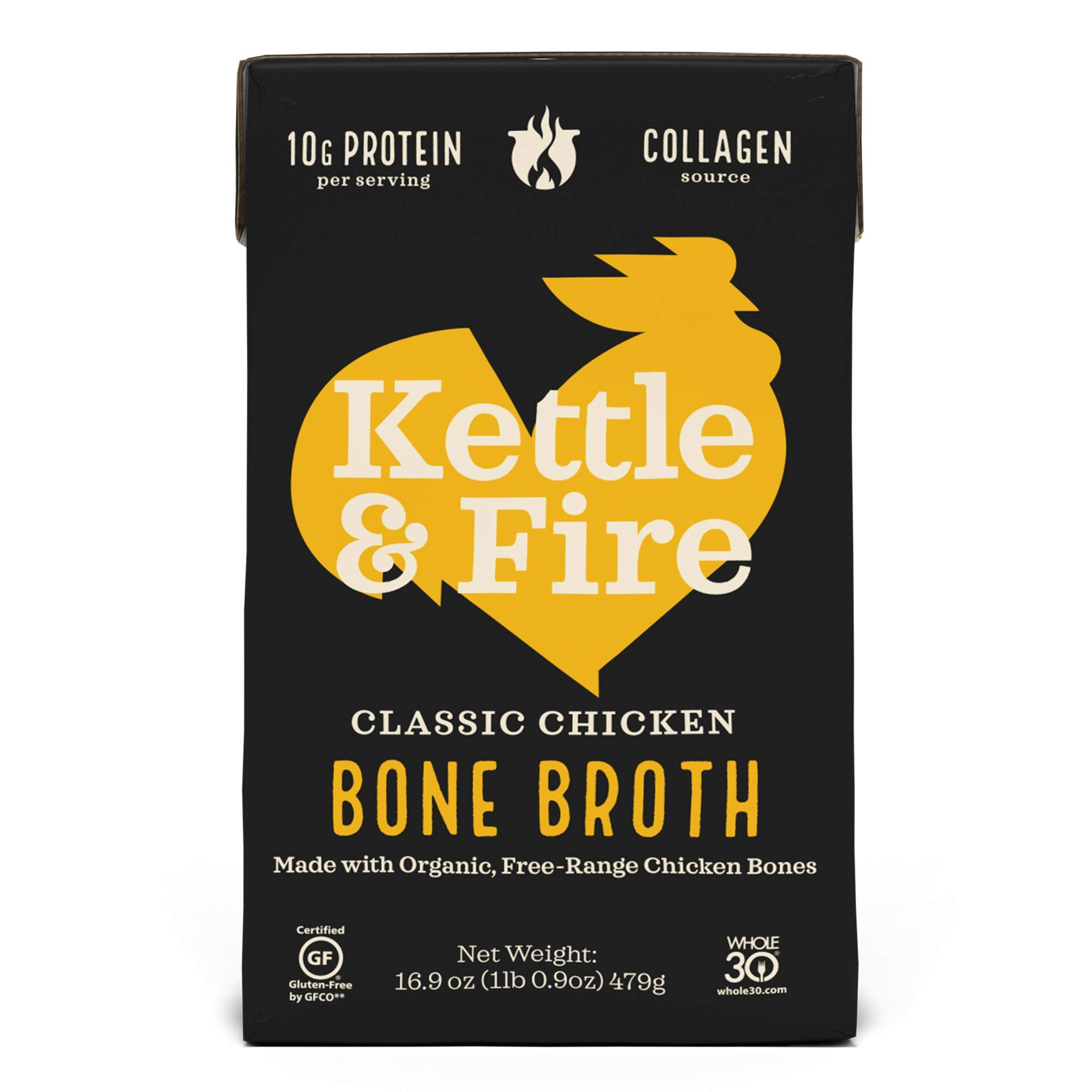 Kettle and Fire Bone Broth Chicken - 16.2 fl. oz.