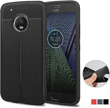 Funda Motorola Moto G5 Plus, achoTREE Patrón Avanzado de Lichi ...