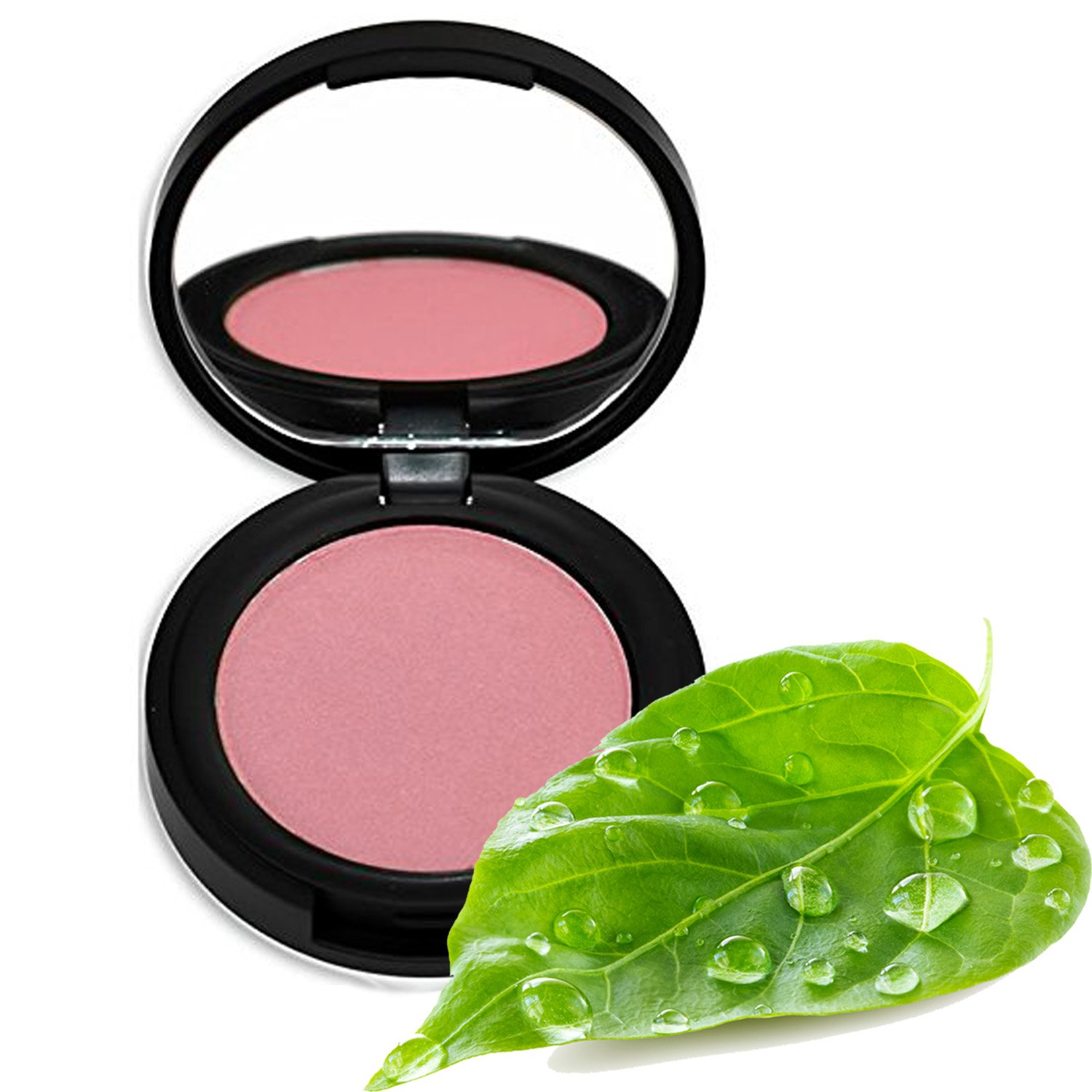 Better'n Ur Cheeks Mineral Blush (PETAL) - Organic Botanicals & Minerals - Cruelty Free - Talc Free - Silky - Long Lasting - Made in USA