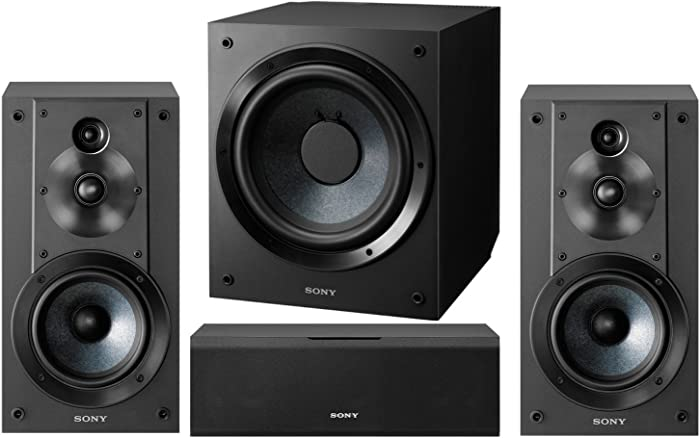 Sony 5.1-Channel Surround Sound Multimedia Home Theater Speaker Bundle