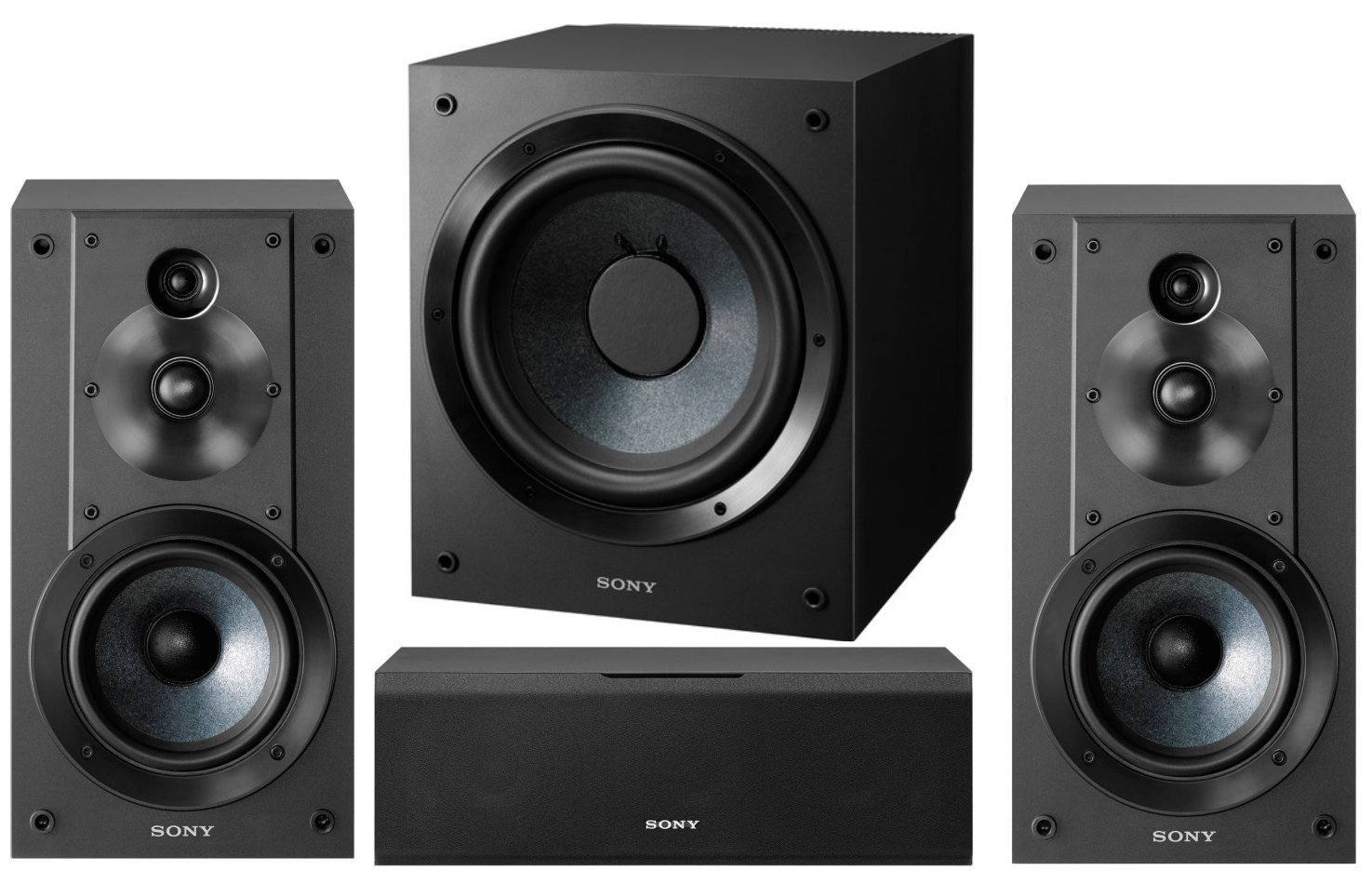 Sony 5.1-Channel Surround Sound Multimedia Home Theater Speaker Set by Sony