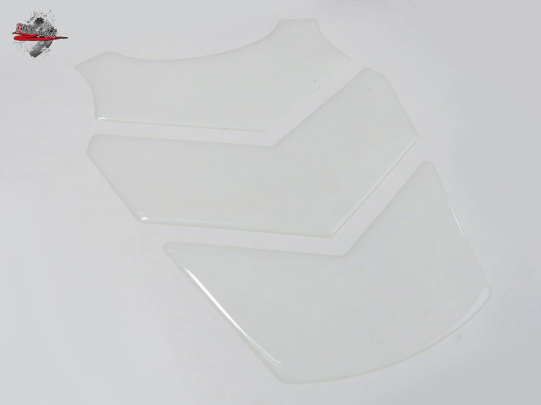 R1200GS Mini 3d 501863 transparente - Permite Que el barniz transparente durchscheinen - Protector de depósito de Universal apto para motocicleta de ...