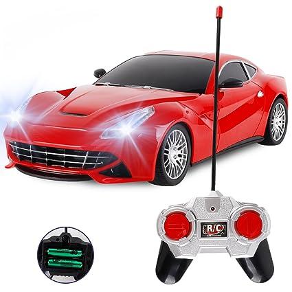 Amazon Com R C Ferrari Sports Car Coupe Remote Control Electric