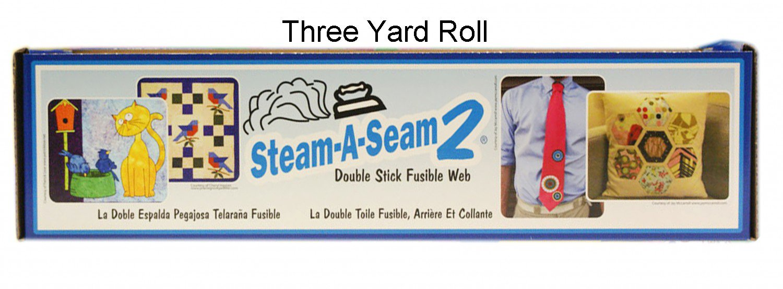 Warm Company Steam A Seam 2 Fusible Web 24'' Wide 3-Yard Roll by Warm Company