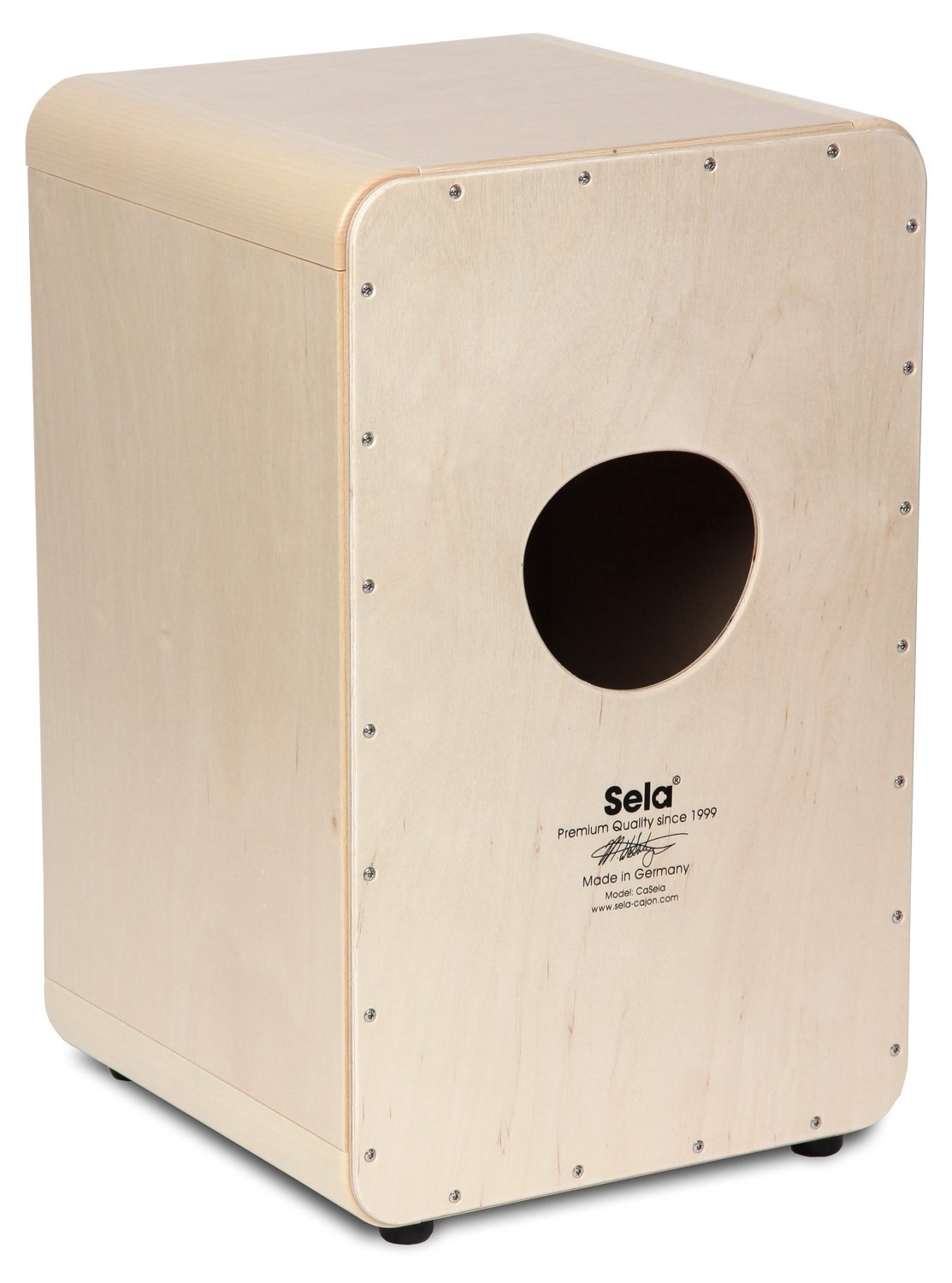 Sela SE 002A CaSela Satin Nut Professional Cajon with Removable Snare System and Special Clap Corners by sela (Image #3)