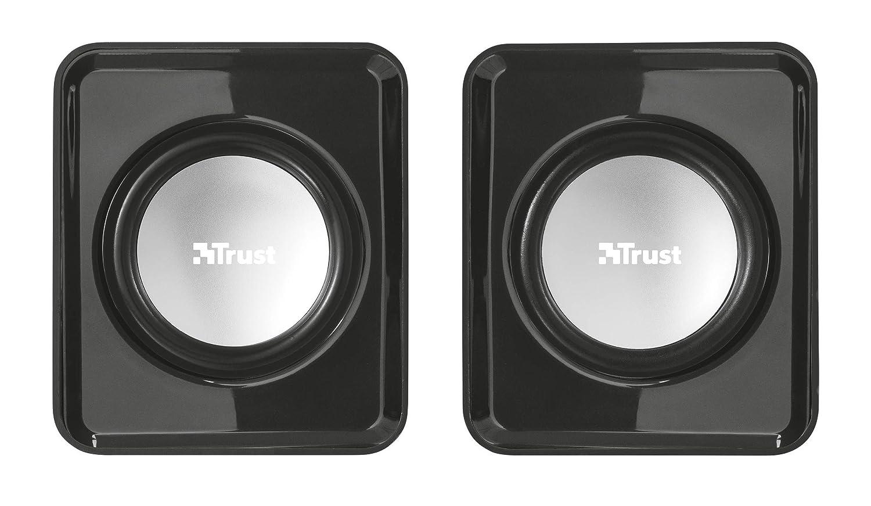 Trust Ziva Kompaktes 2.1-Subwoofer USB Lautsprecher Set 12W, 3,5 mm, USB Stromversorgung, f/ür PC, Laptop, Tablet und Smartphone