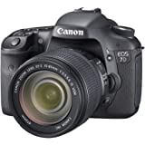 "Canon EOS 7D - Cámara réflex digital de 18 Mp (pantalla de 3"", objetivo(s) EF-S 15-85mm f/5,6, estabilizador de imagen óptico) negro"