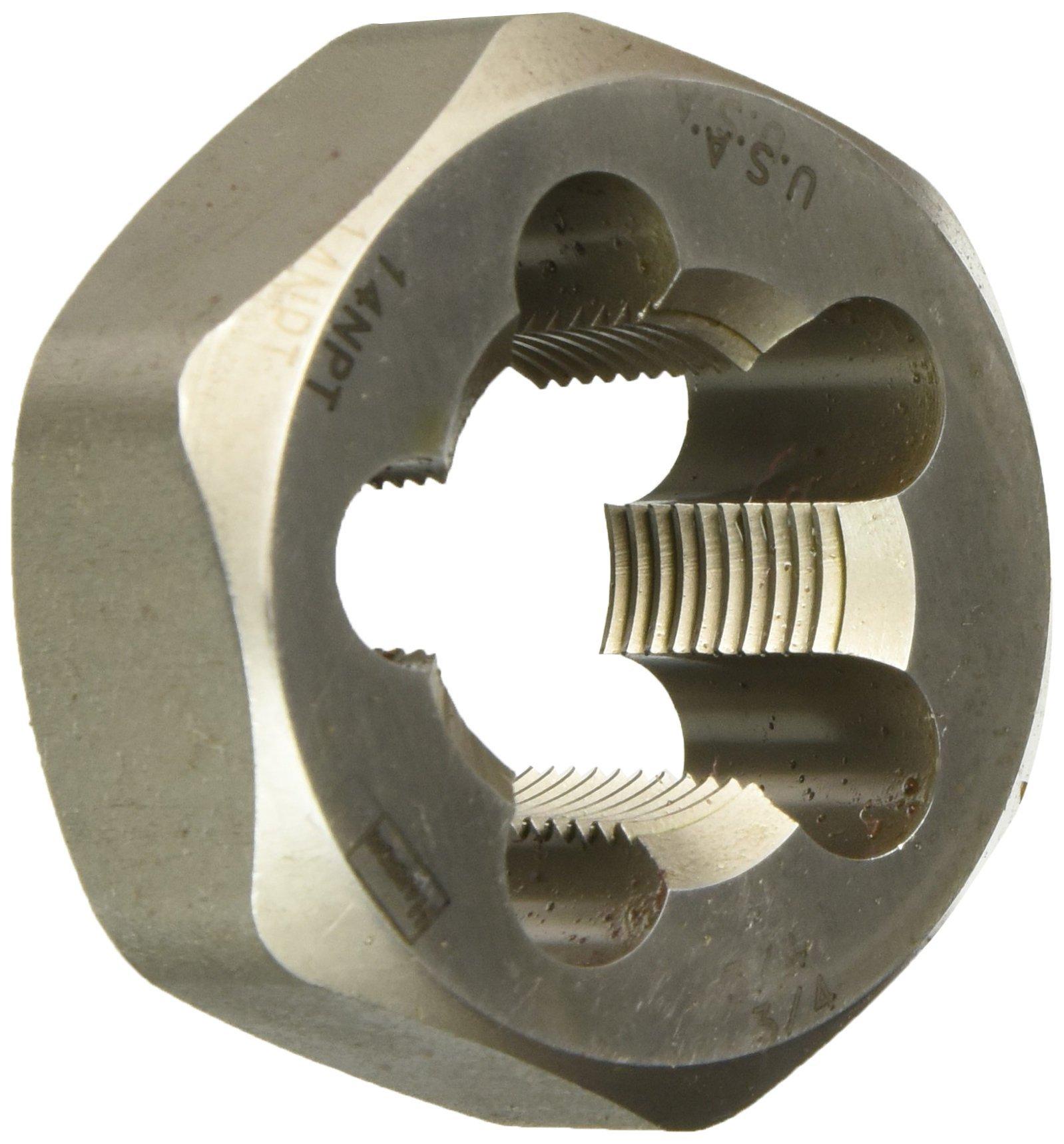 Irwin Tools 7406 Irwin Pipe Threading Die Hex 2 '' W Across 3/4 ''-14NPT